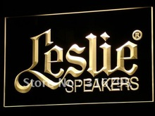 k044 Leslie Speakers NEW Audio NR LED Neon Sign with On/Off Switch 20+ Colors 5 Sizes to choose