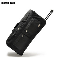 "TRAVEL TALE 32""40"" Inch super large rolling luggage bag big trolley travel bag canvas hight 100cm(China)"