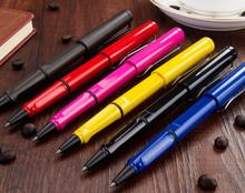 11 colors Lamy Roller Ball Pen Safari pens Novelty Zakka Office Material School Supplies gift pen stationery free shipping