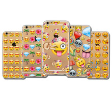 Cute Love Monkey Emoji Patterns Back Cases Cover For Apple iphone 5 5s SE 6 6s 6 plus fundas Soft Sillicon Clear Cellphone Bags