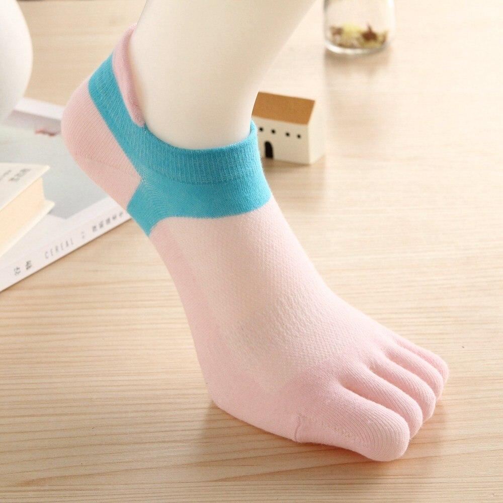drop-shipping-hot-sale-women-s-cotton-Five-fingers-separate-socks-Casual-fashion-Short-tube-deodorant (1)