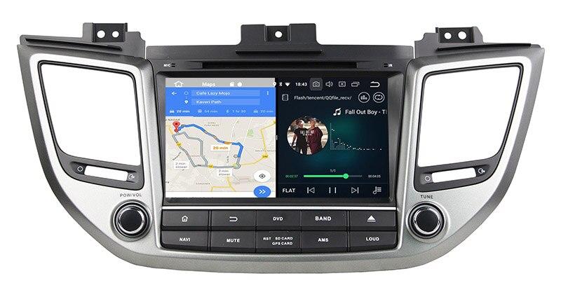 hyundai tucson ix35 stereo upgrade android 8.0 head unit navigation 3