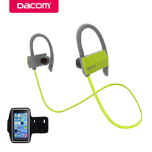 Buy Dacom G18 bluetooth headphone earphone hands-free stereo earpiece headset wireless sport earbuds mic iPhone Samsung for $17.32 in AliExpress store