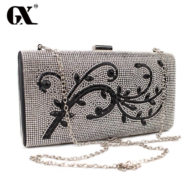 GX 2017 Diamond Evening Clutch Bags Handbags Women Famous Brands for Women Messenger Bag Over The Shoulder Female Clutch Bag<br><br>Aliexpress