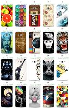 20design hybrid flower colorful breaking bad cat super hero retail white hard cover case for LG L60 X145 L60 Dual X147 free ship