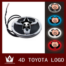 Night Lord for Toyota auto 4D Emblem light lamp 4D led front rear 4D Badge Sticker light LED light 4D led logo light Emblems led
