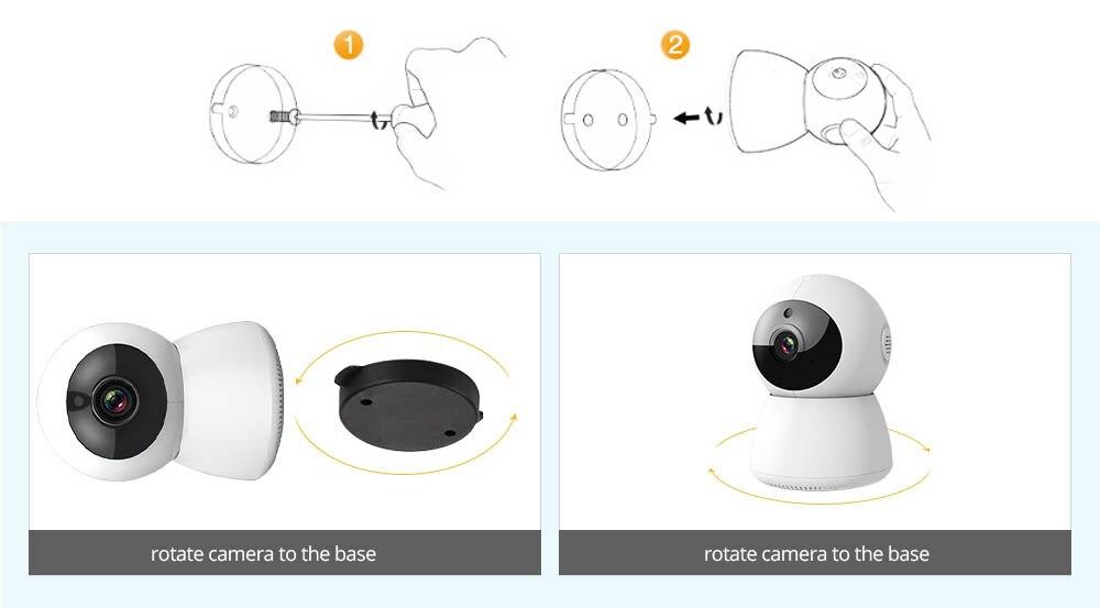 ip camera wifi install 203