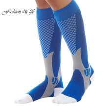 Men Women Leg Support Compression Socks Unisex Stretch Breathable Ball Games Socks(China)