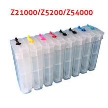 For HP70 Ink catridges empty refillable cartridge for HP Z2100 Z5200 Z5400 printer + 1pcs chip decoder For HP Z2100(China)