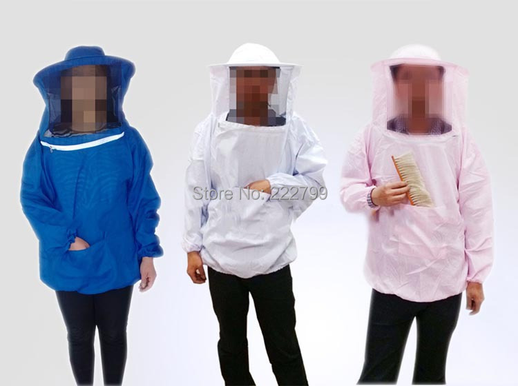 Thickening Protective Safety Clothing Beekeeping Jacket Veil Smock Equipment Bee Keeping Hat Sleeve Suit Beekeeper Uniforms<br><br>Aliexpress