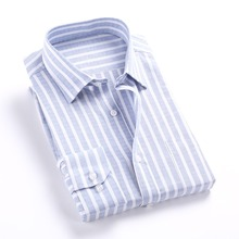 Buy Men Shirt Long Sleeve 2017 Striped Mens Casual Shirt Slim Fit Striped Plaid Mens Dress Shirts Cotton Autumn Shirts Men 5XL for $11.51 in AliExpress store