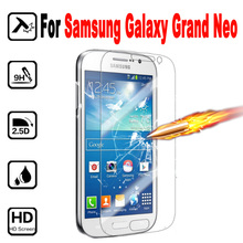 Protective Tempered Glass For Samsung Galaxy i9082 i9060 Screen Protector Film cover For Samsung Galaxy Grand Neo GT-i9060 case(China)