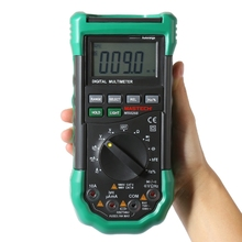 MASTECH MS8268 Auto Range LCD Digital Multimeter Full protection AC/DC Voltmeter Ammeter Ohm Capacitance NCV Electrical Tester(China)