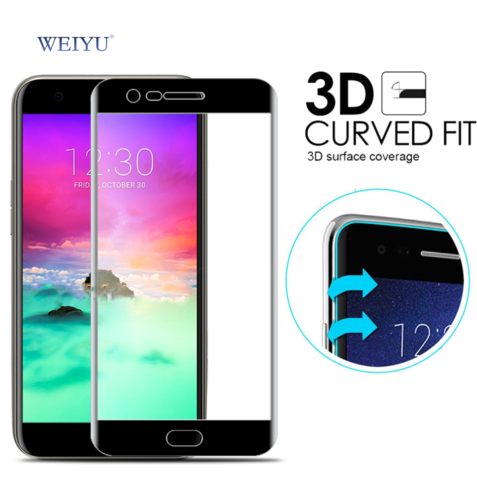 WEIYU 3D Curved LG K8 2017 Full Cover 9H Explosion-proof Tempered Glass Screen Protector Film LG K 8 2017