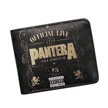 2017 New Rock Music Band Designer Wallets TWENTY ONE PILOTS / PANTERA Wallet For Women Men ID Card Holder Vintage Cartoon Purse(China)