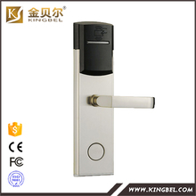 Hot sale digital RFID card hotel room door lock with access control