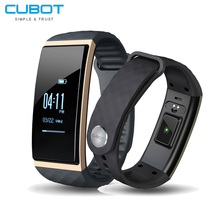 Cubot S1 Bluetooth 4.0 Heart Rate/Sleep Monitor Smart Bracelet Call reminder/Message push Activity Tracking for Android and IOS