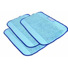 2017 New Fashion High Efficient 3PC Pro-Clean Mopping Cloths for Braava Floor Mopping Robot 380 380T Wiping Rags jul22