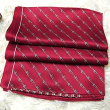 Unisex Men Women 100% Pure Silk Scarf for Business Long Scarves Shawl Wraps 175x55cm Clothing Accessory