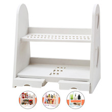 Household Decor Cosmetic Stationery Storage Racks Book Magazine Storage Shelf  Desktop Decor Jewellery Case Storage Drawer