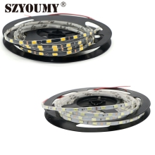 SZYOUMY NEW LED Strip 5730 DC12V 300led Width Of 5mm ( 5 Meters X 2) Super Bright Soft Article Lamp High Lighted White LED 5730