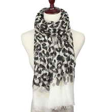 Leopard Print Scarf Women Fashion Designer Brand Scarf Winter Shawls And Scarves Sjaal Cachecol Echarpes Foulards Femme(China)