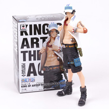 Anime One Piece King of Artist Usopp / Portgas D Ace PVC Figure Collectible Model Toy Brinquedos