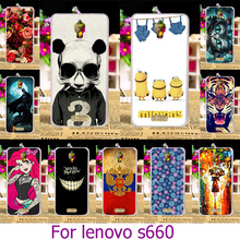 Buy Soft TPU Hard Plastic Phone Case Lenovo S660 S668T 4.7 inch S 660 Painted Case Cover Shell Housing Back cover for $1.42 in AliExpress store