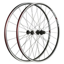 Mountain Bike Wheels Set CNC Aluminum Alloy Road Bike 700C Wheelset Clincher Wheels Set for Shimano Sram 8-10 Speeds Cassette(China)