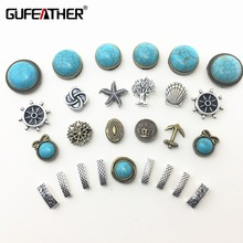 GUFEATHER/jewelry accessories/jewelry findings/accessories parts/embellishments/diy accessories for 10MM leather cord