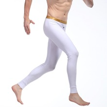 Mens Long Johns Men Thermal Underwear Cotton Underwear Tight Legging Long Johns Y26
