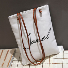 Korea Large Capacity Canvas Ladies Day Clutch Shoulder Bag Girls Handbags Bags Bolsa Feminina Women Crossbody Bag Print Bag 2017