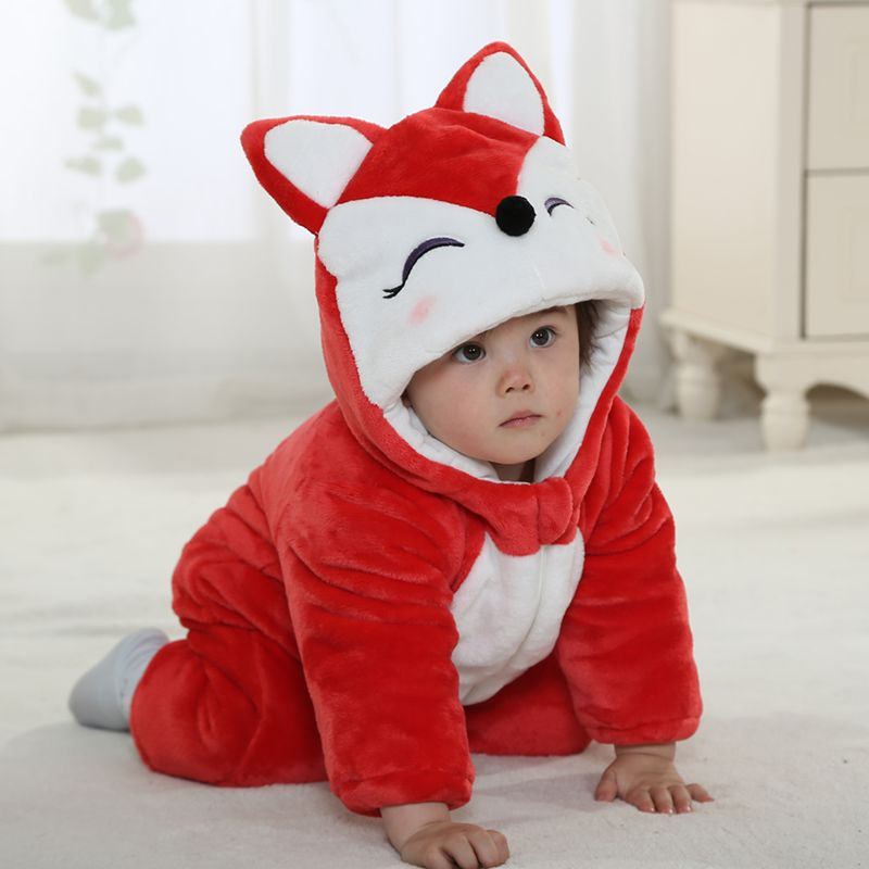 Hot sale Halloween costum baby girl first birthday outfit red warm autumn winter infant fox costume<br><br>Aliexpress