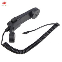 Airsoft Element H-250 Military Phone for 5 Kinds Version Pins Radio Headset Tactical Combat Portable High Tone Quality Headphone