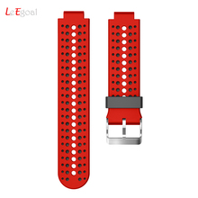 Fashion Watch Straps Bands High Quality Soft Silicone Replacement Wrist Watch Band For Garmin Forerunner 230/235/630 GPS Watch