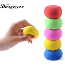 Dongzhur Super Light Paper Clay Multicolour Air Dry Clay Slime Toy For Children Play Dough Tool Modeling Clay Toys Plasticine(China)