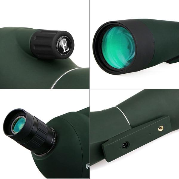 SVBONY Spotting Scope Waterproof BAK4 Angled 20-60x80mm (9)