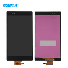 Black For Sony Xperia Z Ultra XL39h XL39 C6806 C6833 C6843 LCD Display Touch Screen Digiziter Assembly Replacement Part
