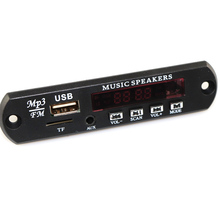 MP3 Decoder Board DC 5V 12V USB Power Supply TF FM Radio Audio Module AUX Remote Control Car Remote Music Speaker
