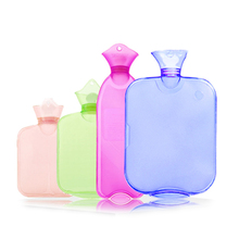 Bottle Heater Hot Water Pack Hot Water Bag Up Massage Health Care Hot Water Bottle Explosion-proof Transparent Hand Massage(China)