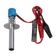 Mxfans Metal Blue Upgraded 6V -24V Electronic Remote Control Oil Ignition for Nitro Car