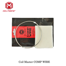 Authentic CoilMaster Coil Master COMP WIRE 22ga/24ga/26ga Coil AWG For RTA RDA RDTA Tank Atomizer Rebuildable Vaporizer Kit(China)