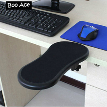 Tables and chairs computer hand bracket mouse pad wrist length pad bracket wrist support mouse pad(China)