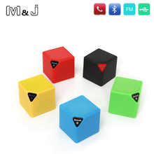 M&J New Mini X3 LED Light Bluetooth Wireless Speaker Portable Radio FM Built-in Mic Handsfree Speakers - Jiabosi Store store