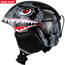4 Children Ski Helmet Roller-skating Skateboard Ice Hockey Snowboard Helmet Fast Moto Bike Riding Cycling Climbing Sport Safety(China)
