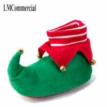 Indoor Slippers Special Christmas offer custom a warm winter lovers home slippers thick hard cotton bottom shoes(China)