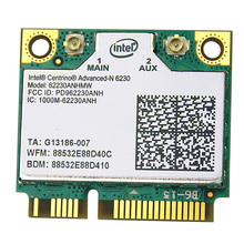 Original Intel Centrino Advanced-N 6230 62230ANHMW intel 62230anhmw WiFi Bluetooth 3.0 Dual band 300Mbps PCI-E Network card(China)
