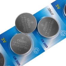 10PCS/Lot CR2025 ECR2025 DL2025 BR2025 2025 KCR2025 L12 Button cell coin battery for watch,Cosmosnewland battery(China)