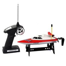 Feilun FT008 RC Boat 27Mhz High Speed Racing Boat Radio Remote Control Motorboats/ Ship/Vessel Toys for Beginner As Toys Gift(China)