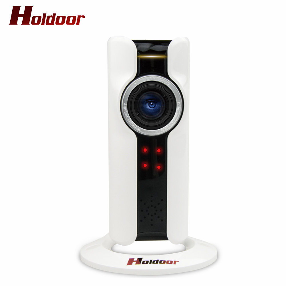 Mini Half Panorama 180 Degree VR IP Camera Wifi 720P HD Network Surveillance IR-cut Night Vision Security Camera Plug and Play<br>